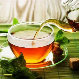 Zielona herbata - właściwowa